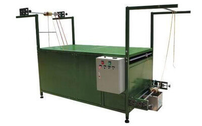 Polishing Machine : CMsw-201 Automatic Shoelace Waxing Machine