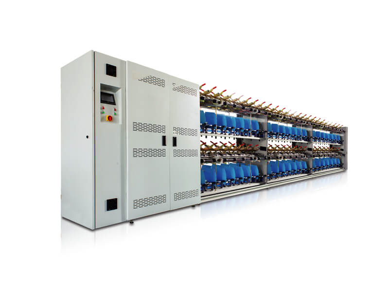 YH-310E : Computerize filament Yarn Twisting Machine